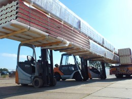 Loading cargo Cavalier Logistics